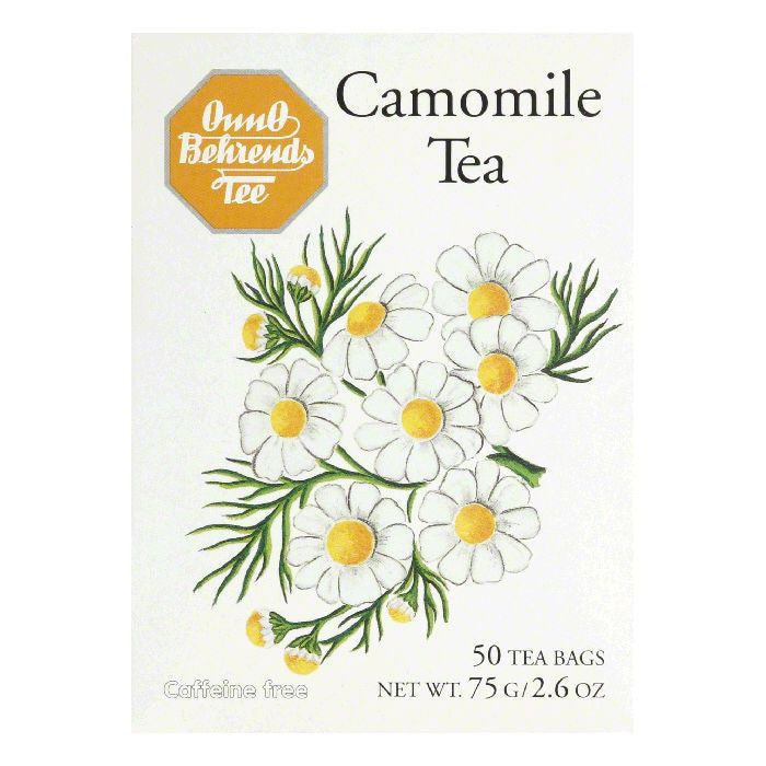 Onno Behrends Chamomile Tea, 50 BG (Pack of 10)