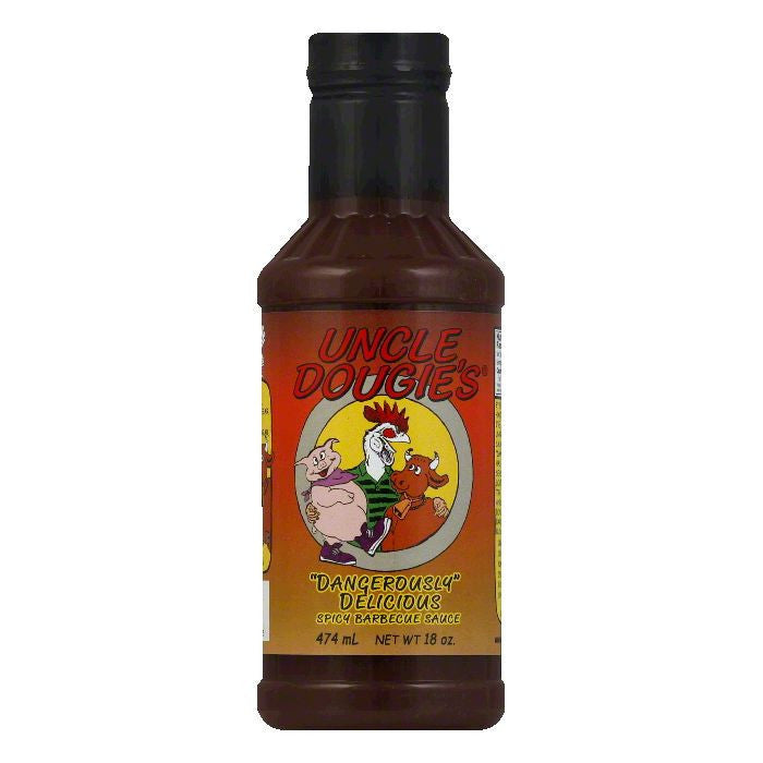 Uncle Dougie's BBQ Sauce, 18 OZ (Pack of 12)