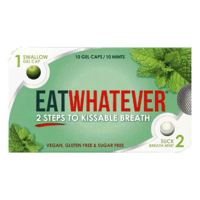 Eat Whatever Gel Caps/Mints, 1 ea (Pack of 9)
