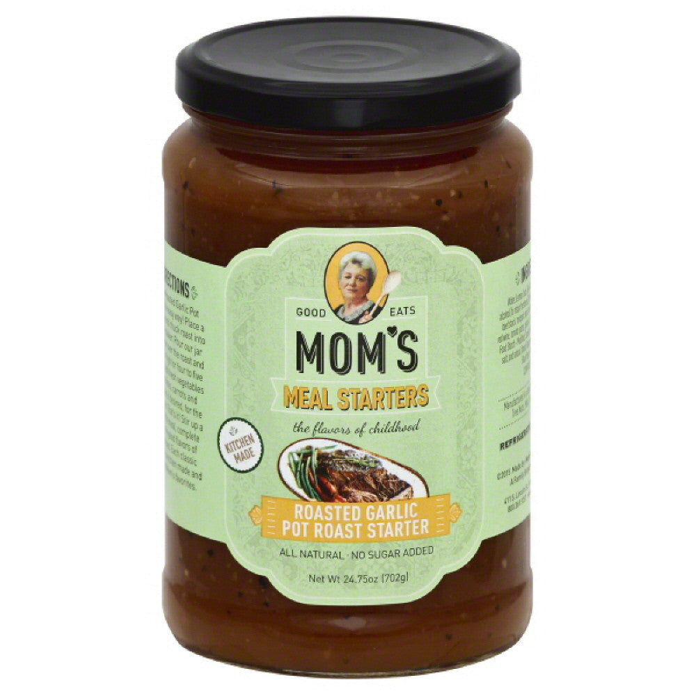 Moms Roasted Garlic Pot Roast Starter, 24.75 Oz (Pack of 6)