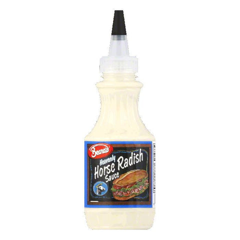 Beanos Horseradish Sauce, 8 OZ (Pack of 12)