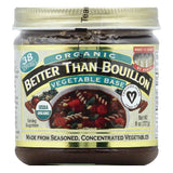 Better Than Bouillon Organic Vegetable Base, 8 OZ (Pack of 6)