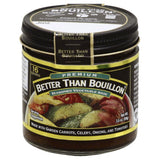Better Than Bouillon Premium Seasoned Vegetable Base, 3.5 Oz (Pack of 8)