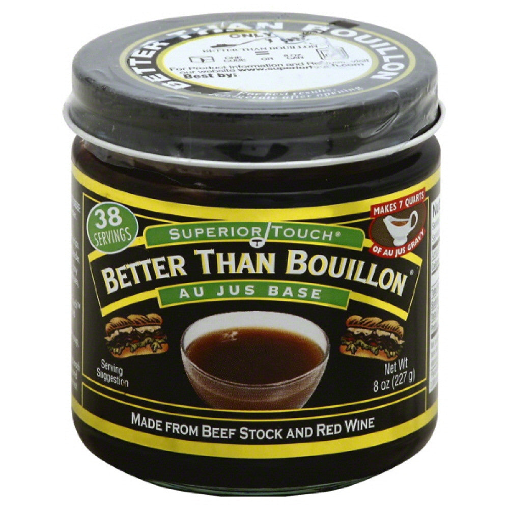 Better Than Bouillon Au Jus Base, 8 Oz (Pack of 6)