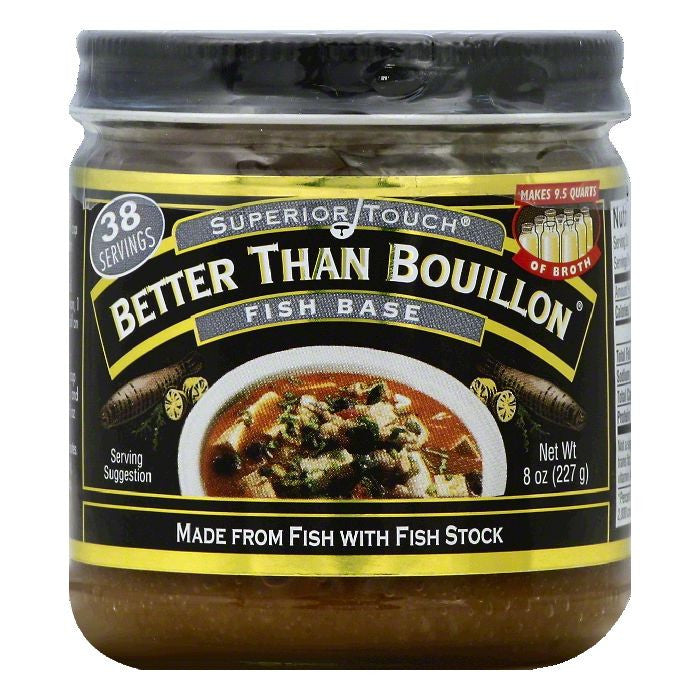 Better Than Bouillon Fish Base, 8 OZ (Pack of 6)