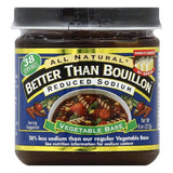 Better Than Bouillon Reduced Sodium Vegetable Base, 8 OZ (Pack of 6)