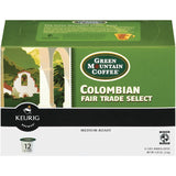 Green Mountain Coffee Roasters Colombian Fair Trade Select 12 K-Cups Coffee 4.02 Oz  (Pack of 6)
