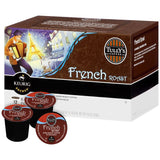 Tully's Coffee French Roast 12 ct. K-Cups 4.40 Oz  (Pack of 6)