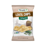 Simply 7 Jalapeno Lentil Chip, 4 OZ (Pack of 12)