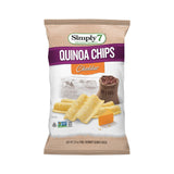 Simply 7 Quinoa Cheddar Chip, 3.5 OZ (Pack of 12)