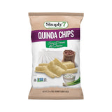 Simply 7 Sour Cream & Onion Quinoa Chips, 3.5 Oz (Pack of 12)