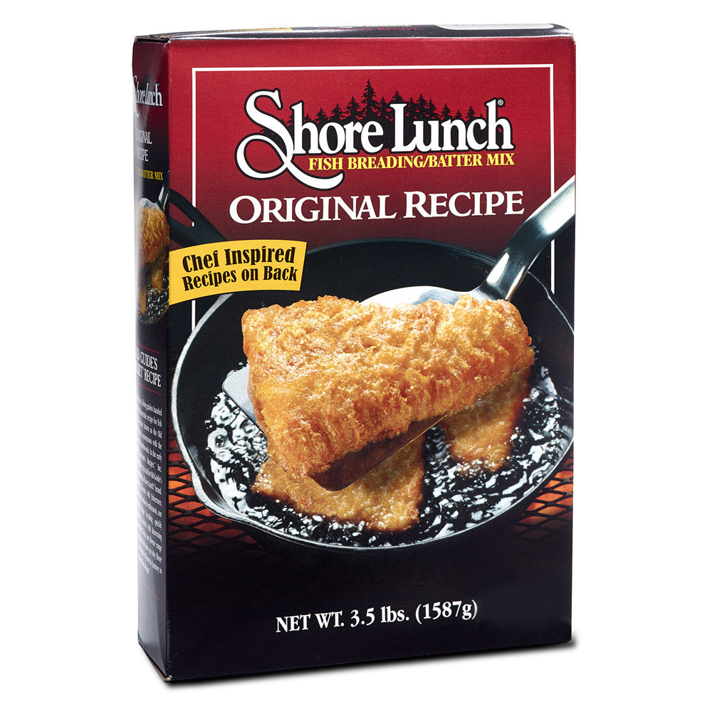 Shore Lunch Family Size Fish Batter Mix, 3.5 LB (Pack of 6)