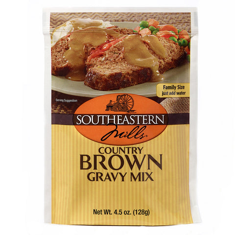 Southeastern Mills Gravy Mix Old Fashioned Brown, 4.5 OZ (Pack of 24)