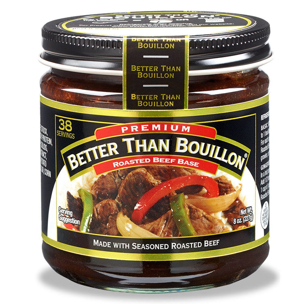 Better Than Bouillon Beef Base, 8 OZ (Pack of 6)
