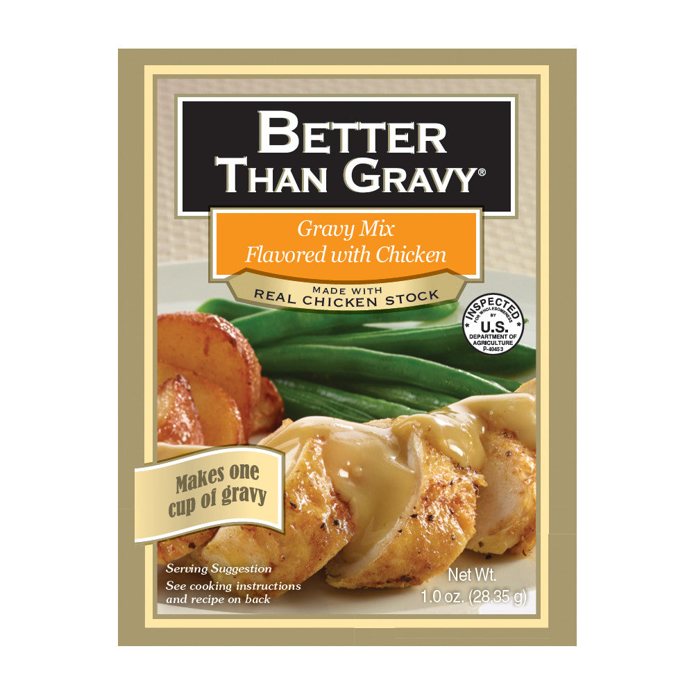 Better Than Gravy Flavored with Chicken Gravy Mix, 1.25 OZ (Pack of 12)