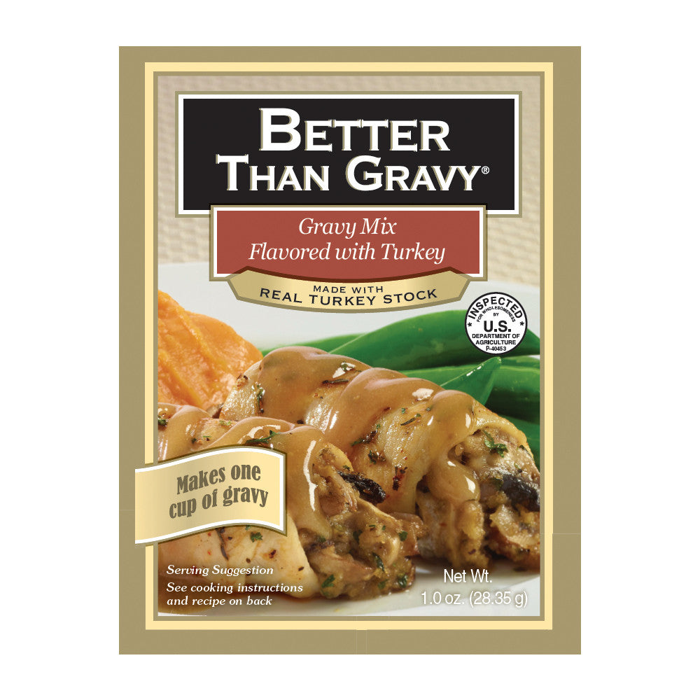 Better Than Gravy Flavored with Turkey Gravy Mix, 1.25 OZ (Pack of 12)