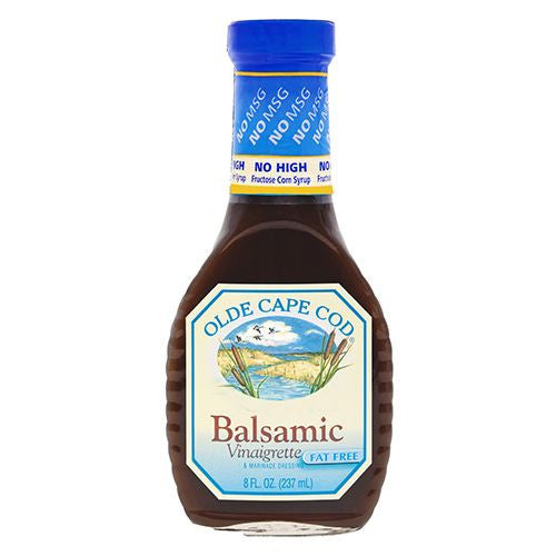 Olde Cape Cod Dressing Balsamic Vinaigrette Fat Free, 8 OZ (Pack of 6)