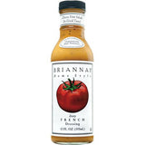 Briannas Dressing Zesty French, 12 Oz (Pack of 6)