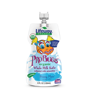 Lifeway ProBugs Plain Organic - Single, 4 Oz (Pack of 12)