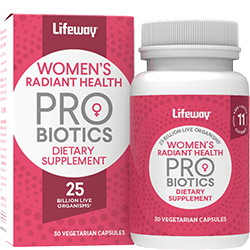 Lifeway Probiotic Supplement Women's Radiant Health, 30 CP (Pack of 1)