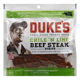 Duke's Red Hot Chile Jerky Steak Strip, 3.15 OZ (Pack of 8)
