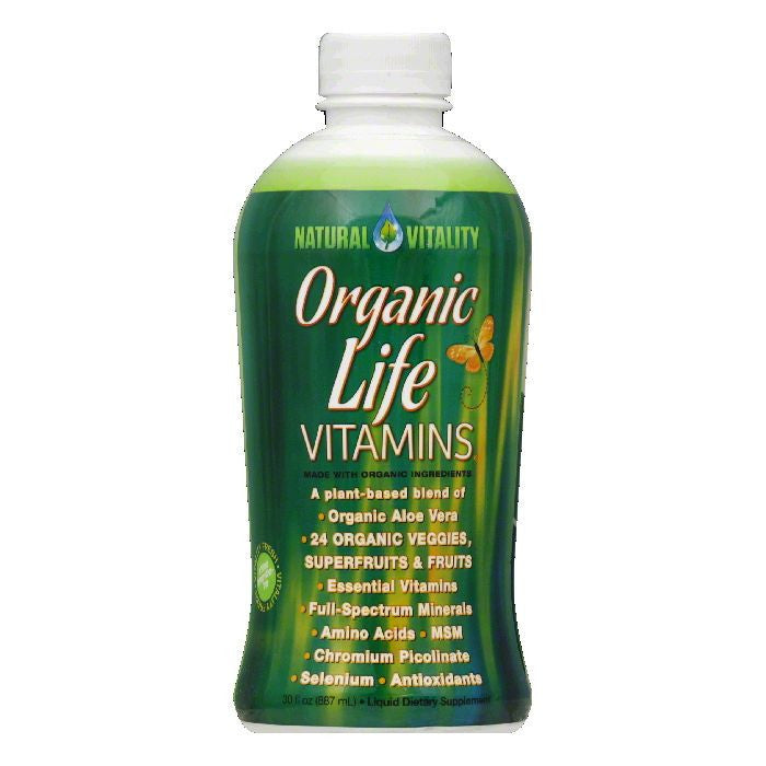 Natural Vitality Liquid Vitamins, 30 FO