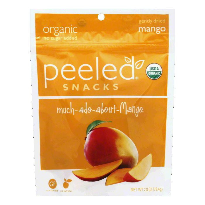 Peeled Much-Ado-About-Mango Gently Dried Mango, 2.8 Oz (Pack of 12)