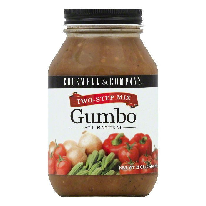 Cookwell & Co Two-Step Gumbo Mix, 33 OZ (Pack of 6)