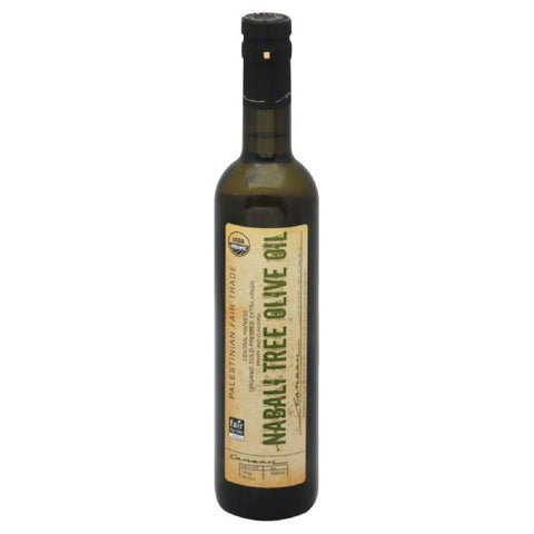 Canaan Extra Virgin Nabali Tree Organic Olive Oil, 500 Ml (Pack of 6)