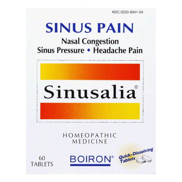 Boiron Tablets Sinus Pain, 60 TB