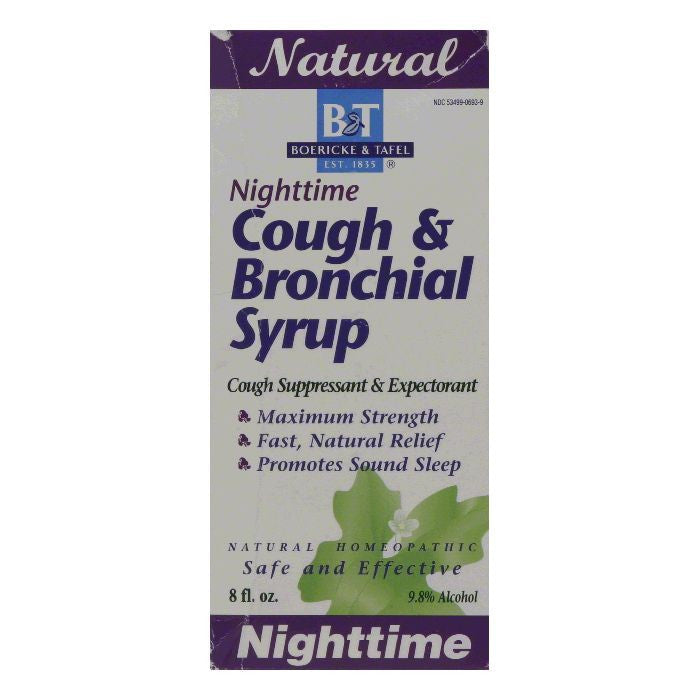 B&T Nighttime Cough & Bronchial Syrup, 8 OZ