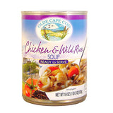 Olde Cape Cod Chicken & Wild Rice Ready to Serve Soup, 19 OZ (Pack of 12)
