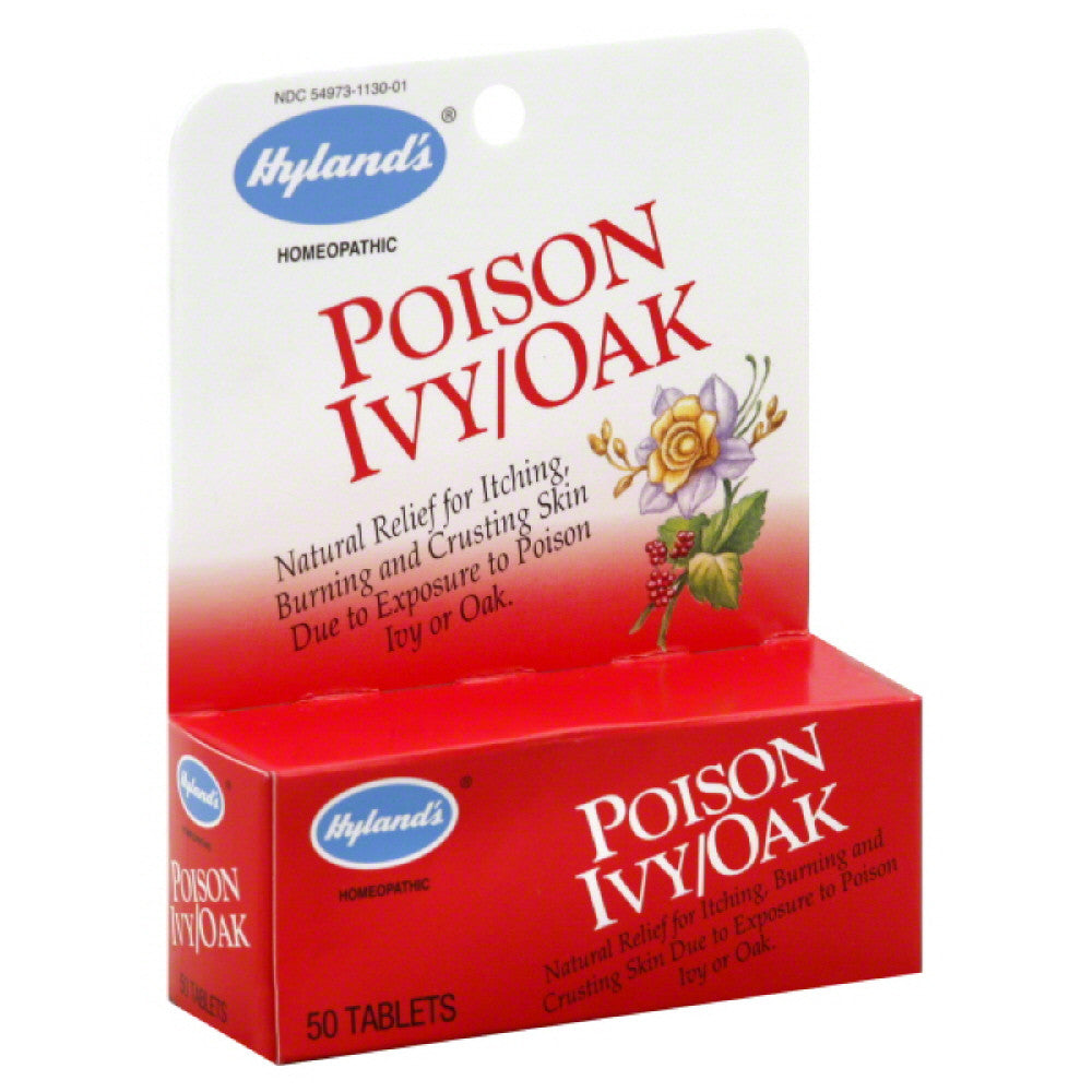 Hylands Tablets Poison Ivy/Oak, 50 Tb