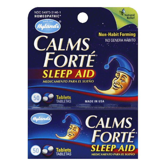 Hylands Tablets Calms Forte, 50 TB