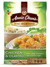Annie Chuns Chicken & Cilantro – Mini Wontons, 8 OZ (Pack of 9)