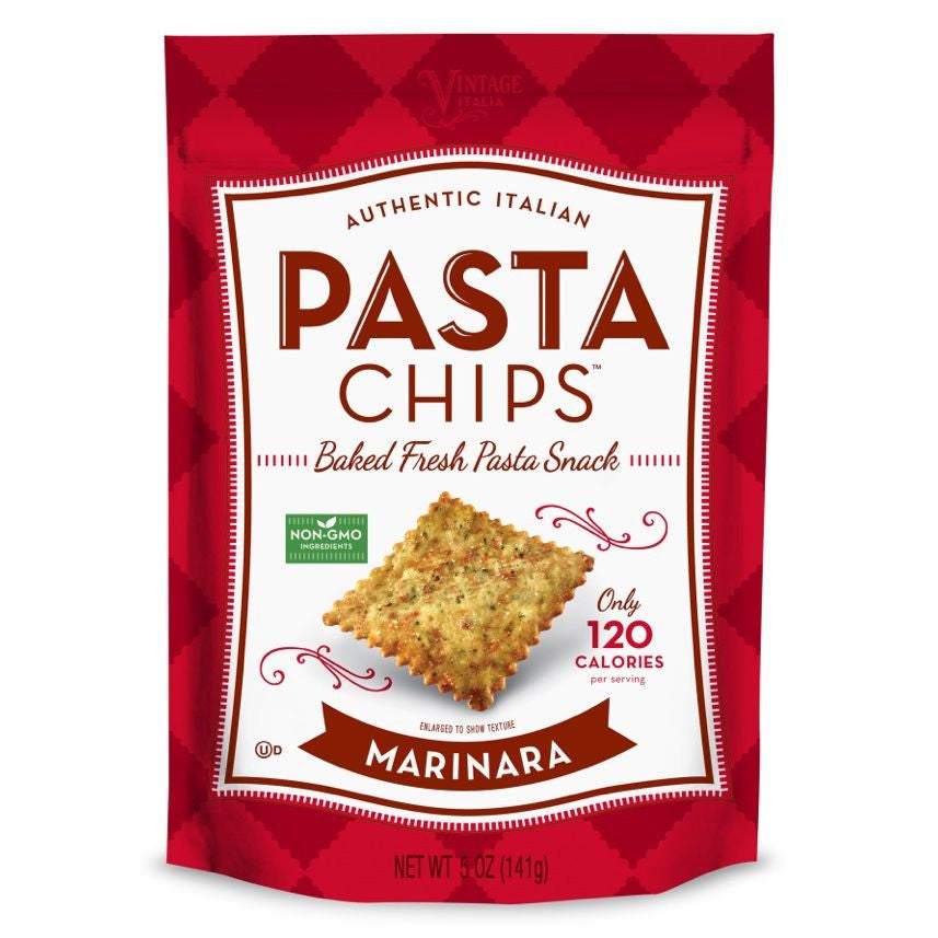 Pasta Chips, Marinara, 5 Oz (Pack of 12)