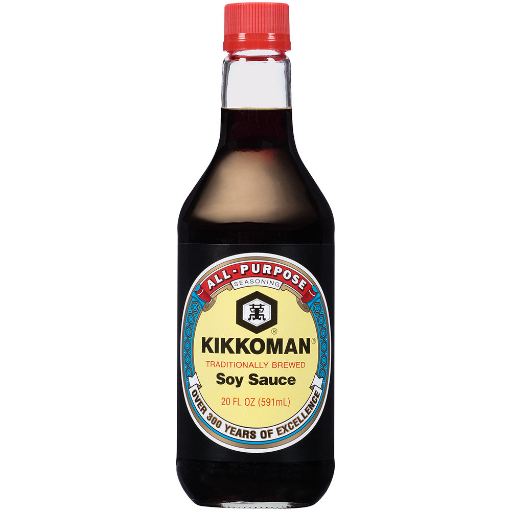 Kikkoman Soy Sauce 20 fl. Oz (Pack of 6)