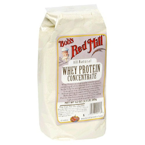 Bob's Red Mill Whey Protein Concentrate, 12 Oz (Pack of 4)