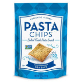 Pasta Chips, Mediterranean Sea Salt, 5 OZ (Pack of 12)