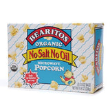 Little Bear Microwave Popcorn No Salt, No Oil, Organic, 8.40 OZ (Pack of 12)