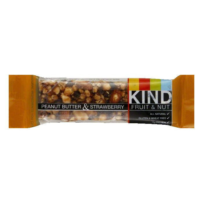 Kind Peanut Butter and Strawberry Bar, 1.4 OZ (Pack of 12)