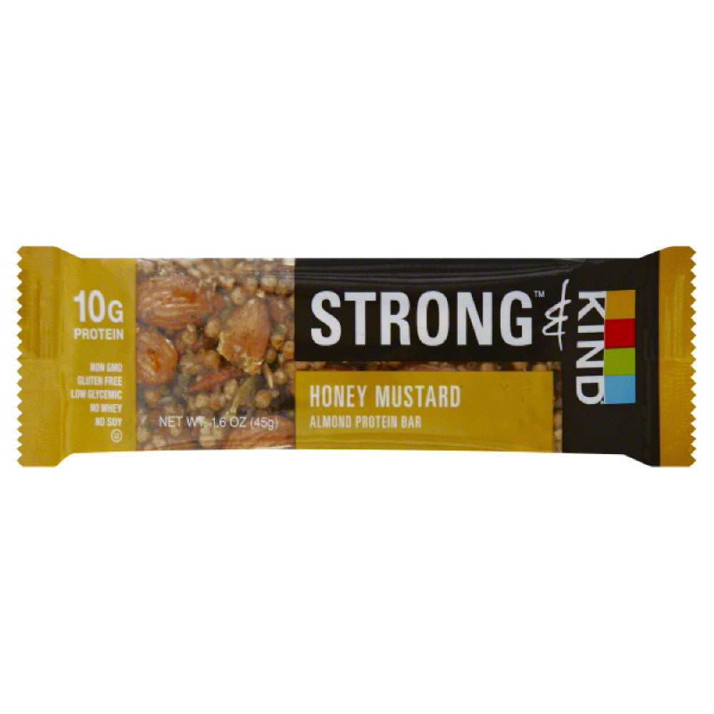 Kind Honey Mustard Almond Protein Bar, 1.6 Oz (Pack of 12)