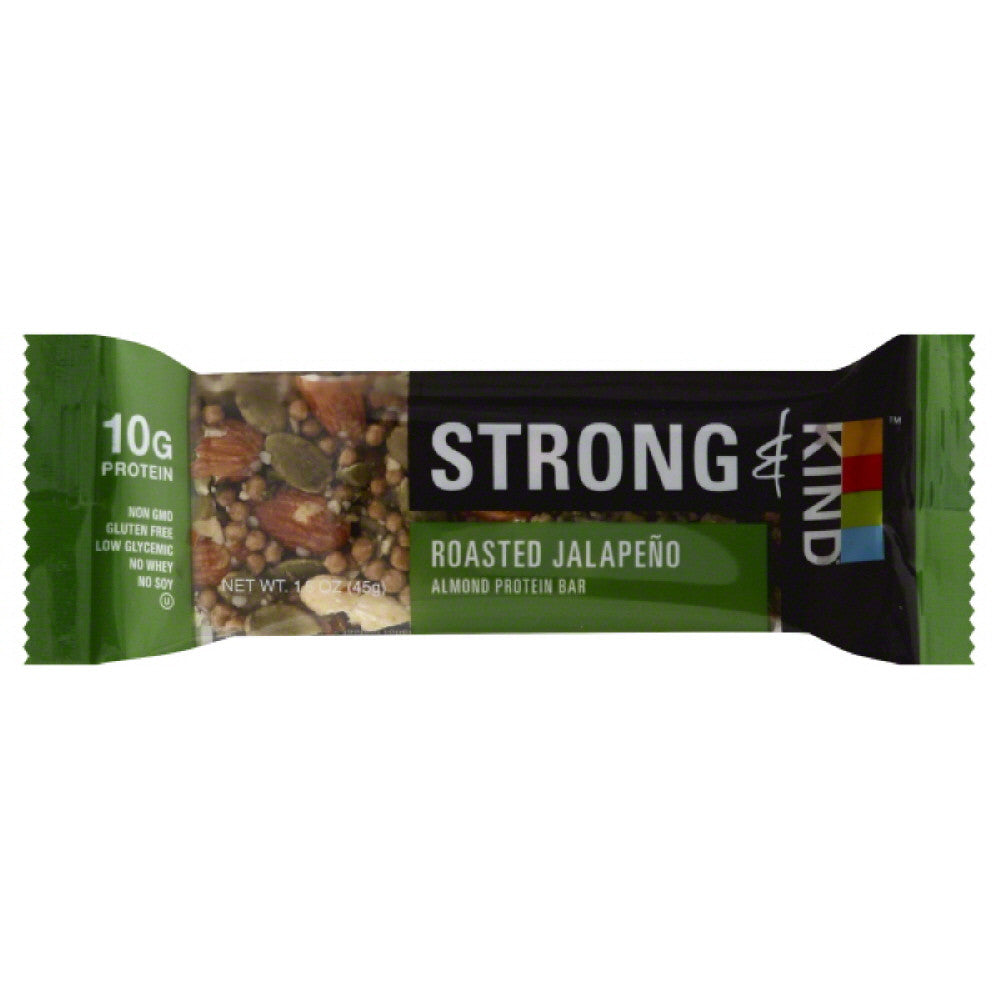 Kind Roasted Jalapeno Almond Protein Bar, 1.6 Oz (Pack of 12)