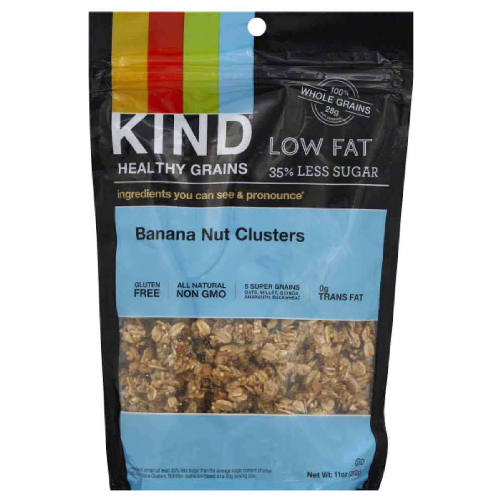 Kind Banana Nut Clusters, 11 Oz (Pack of 6)