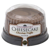 Chuckanut Bay Chocolate Truffle Cheesecake, 4 Oz (Pack of 12)