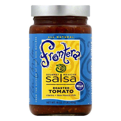 Frontera Mild Roasted Tomato Gourmet Mexican Salsa, 16 OZ (Pack of 6)