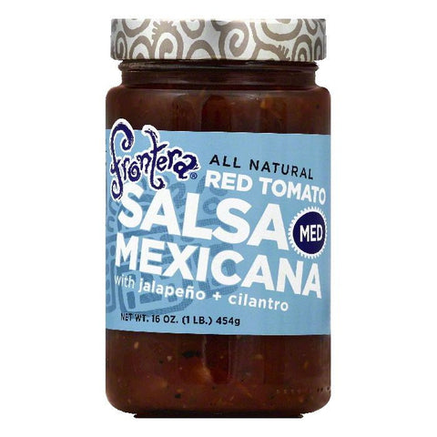 Frontera Medium Red Tomato Mexicana Salsa, 16 OZ (Pack of 6)