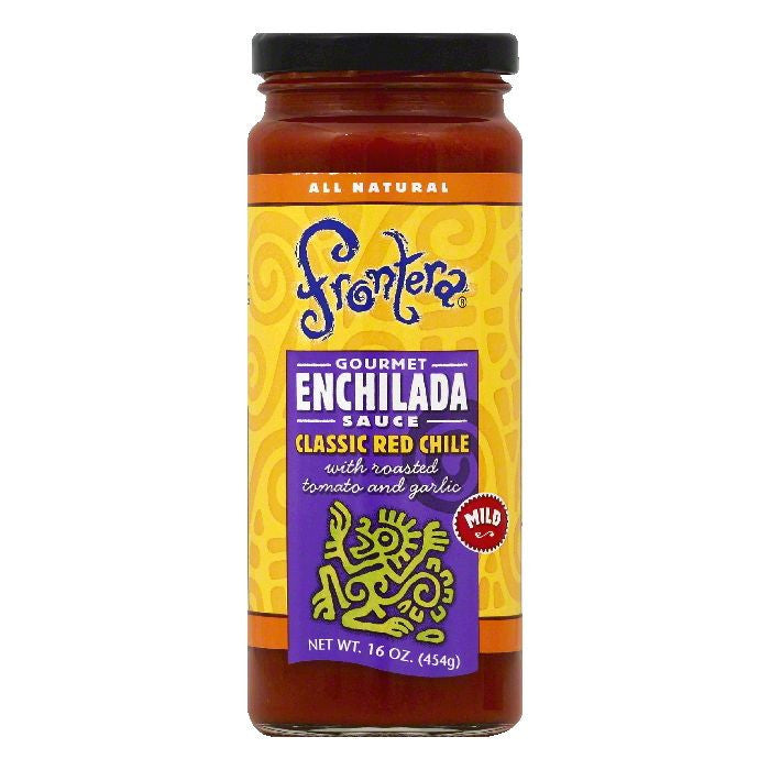 Frontera Mild Classic Red Chile Gourmet Enchilada Sauce, 16 OZ (Pack of 6)