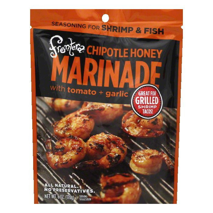 Frontera Chipotle Honey with Tomato + Garlic Marinade, 6 OZ (Pack of 6)