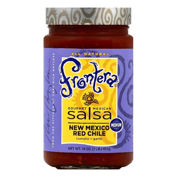 Frontera Medium New Mexico Red Chile Gourmet Mexican Salsa, 16 OZ (Pack of 6)
